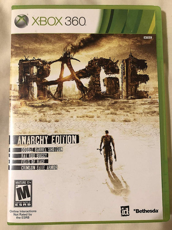 Xbox 360 Rage Anarchy Edition