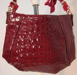Vera Wang Ruby Isle Faux Leather Shoulder Bag