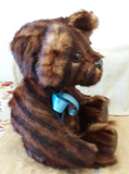 Dark Brown Striped Mink Bear