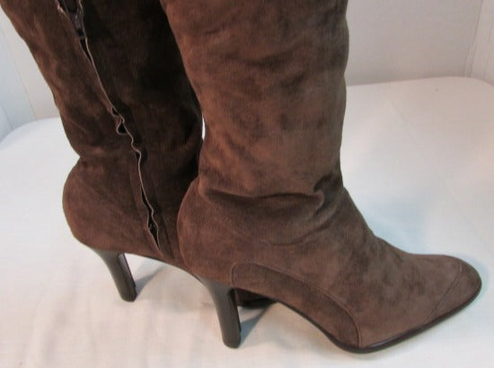 Moda Spana Brown Suede Boots