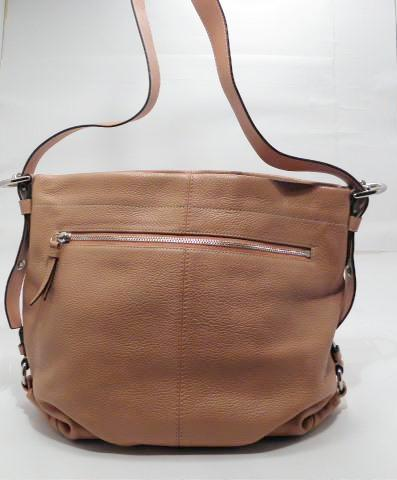 Coach Pebble Leather Hobo Duffel Tangerine