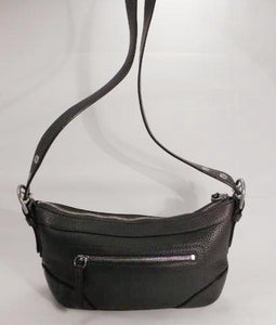 Coach Brown Pebbled Leather Shoulder, Cross Body Bag