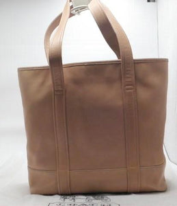 Vintage Coach Large Camel Leather Tote with Coach Dust Cover