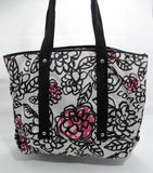 Coach Poppy Daisy Floral Graffiti Tote Purse