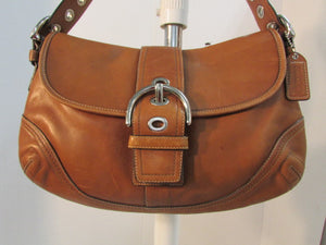 Coach Large Soho Brown Leather Hobo