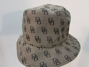 Dooney & Bourke Sun Bucket Hat Brown and Black Canvas