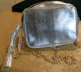 Victoria Secret Silver Purse Nwt