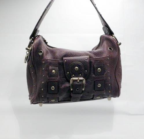 Betsey Johnson Brown Leather Handbag