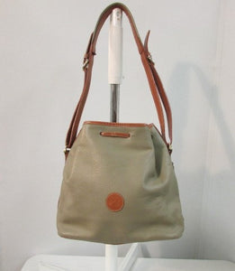 Gianni Valenti Leather Drawstring Bucket Bag