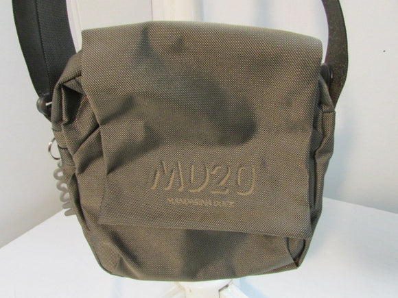 Mandarina Duck MD20 Brown Canvas Crossbody Bag