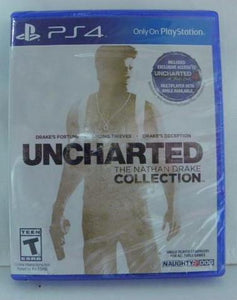 PS4 New Uncharted The Nathan Drake Collection