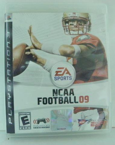 PS3 NCAA Football 09