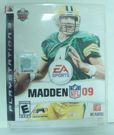 PS3 Madden NFL09