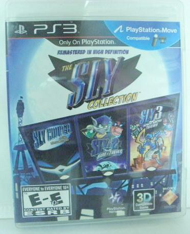 PS3 The Sly Collection