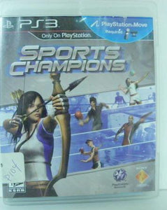 PS3 Sports Champions Video Game