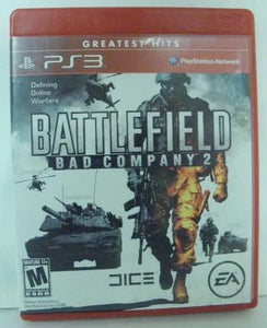 PS3 Battlefield Bad Company 2 Greatest Hits