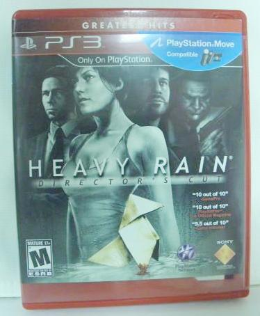 PS3 Heavy Rain Directors Cut