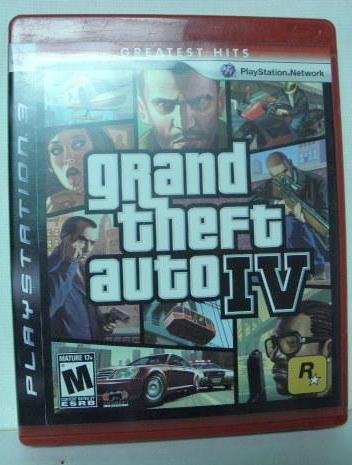 PS3 Grand Theft Auto IV Greatest Hits