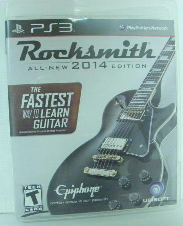 PS3 Rocksmith All New 2014 Edition