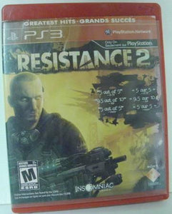 PS3 Resistance 2 Greatest Hits