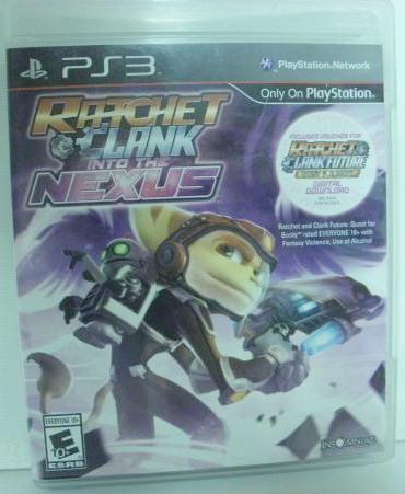 PS3 Ratchet and Clank Into The Nexus