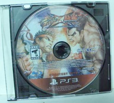 PS3 Street Fighter vs Tekken Greatest Hits