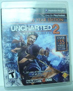 PS3 Uncharted 2 Among Thieves Game Of The Year Edition