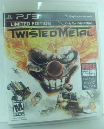 PS3 Twisted Metal Limited Edition