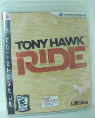 PS3 Tony Hawk Ride