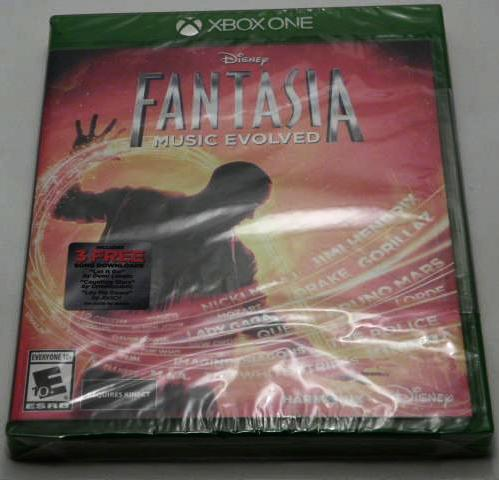 Xbox One Disney Fantasia Music Evolved