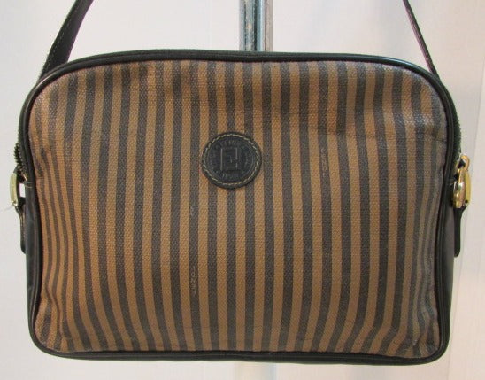 Vintage 1970's Fendi SAS Roma 1925 Made in Italy Shoulder Purse