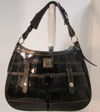 Dooney & Bourke 1975 Black Leather Purse
