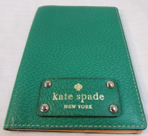Kate Spade Green Leather Cover