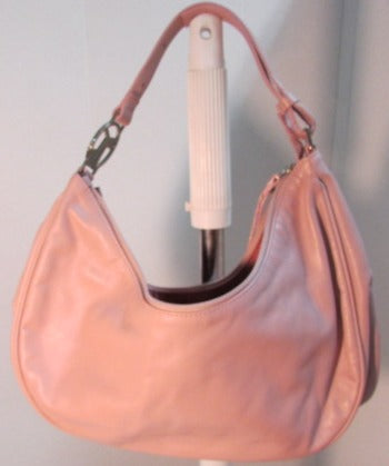 Coccinelle Pale Pink Leather Hobo Handbag - NWT
