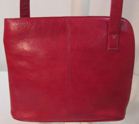 Hobo International Red Leather Crossbody Purse