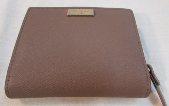 Kate Spade Terra Rose Coated Leather Wallet