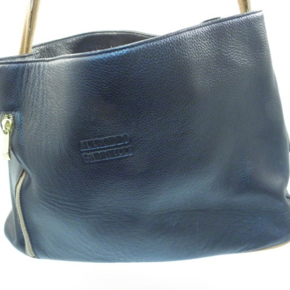 Alejandro Gabrielli Dark Chocolate Shoulder Bag