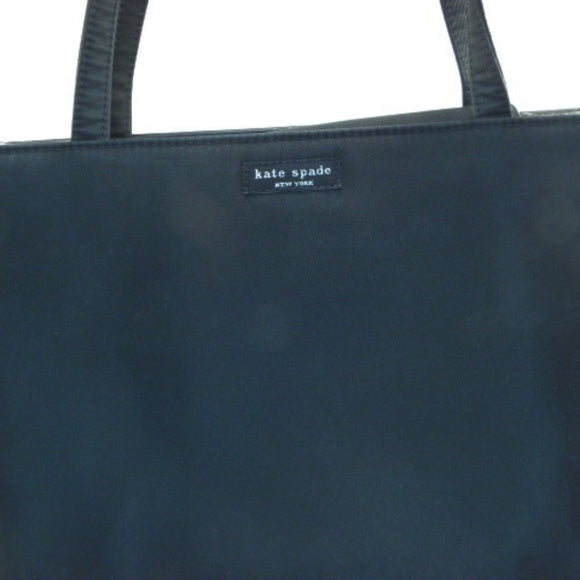 Kate Spade Black Double Strap Nylon Sam Tote