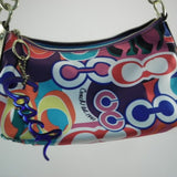 Coach Poppy Signature Groovy Shoulder/Swing Bag