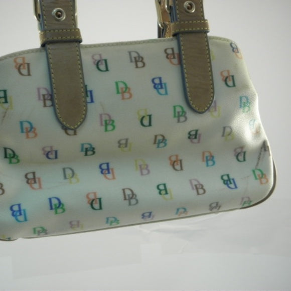 Dooney & Bourke Multicolor Signature Canvas Purse