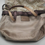 Coach Audrey Opart Browns Southwest Leigh Tote