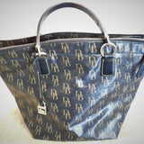 Dooney and Bourke Black Signature Satchel