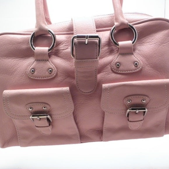 The Limited Coral Pink Satchel Real Leather - NWT