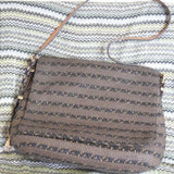 Eric Javits Hickory Mix Law Squishee Shoulder Bag