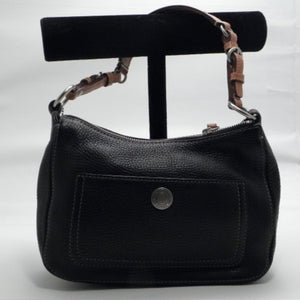 Coach Chelsea Black Leather Hobo Shoulder Bag
