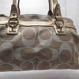 Coach Signature Penelope Cream/Gold Shoulder Bag