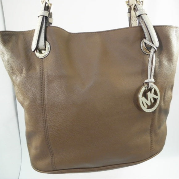 Michael Kors Large Carmel Tan Leather Tote