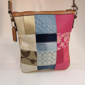 Coach Patchwork Crossbody Handbag