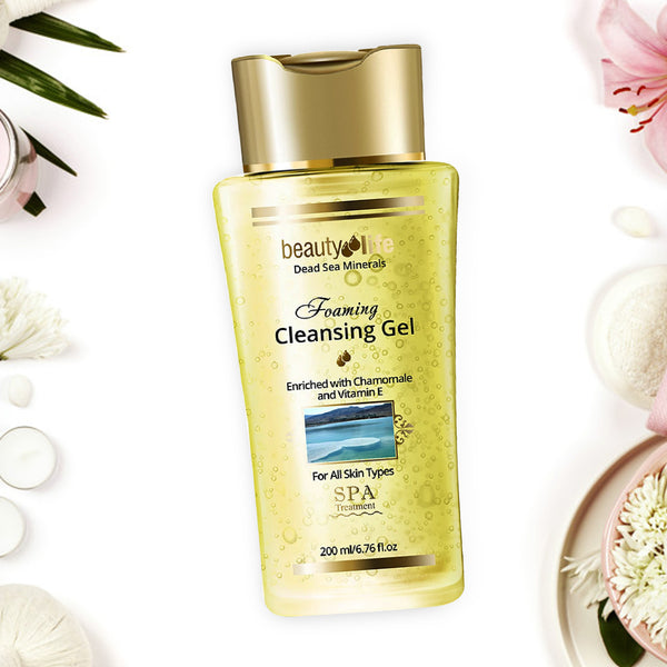 Foaming Cleansing Gel for all skin types - Aroma Dead Sea