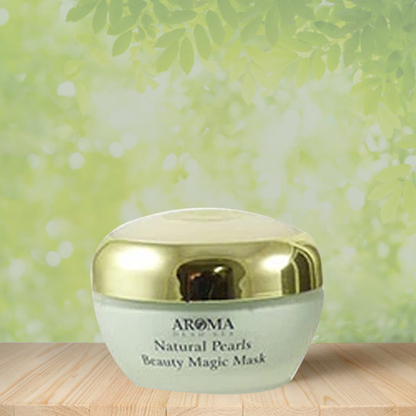 Natural Pearls Beauty Magic Mask - Aroma Dead Sea